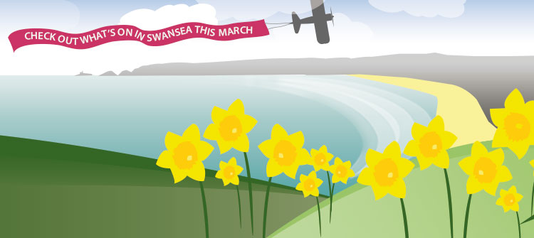 Enjoy Swansea Bay this March