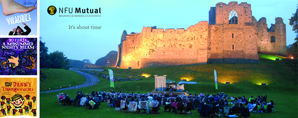 Outdoor Theatre at Oystermouth Castle