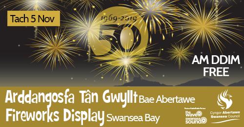 Free Fireworks Display - Swansea Bay