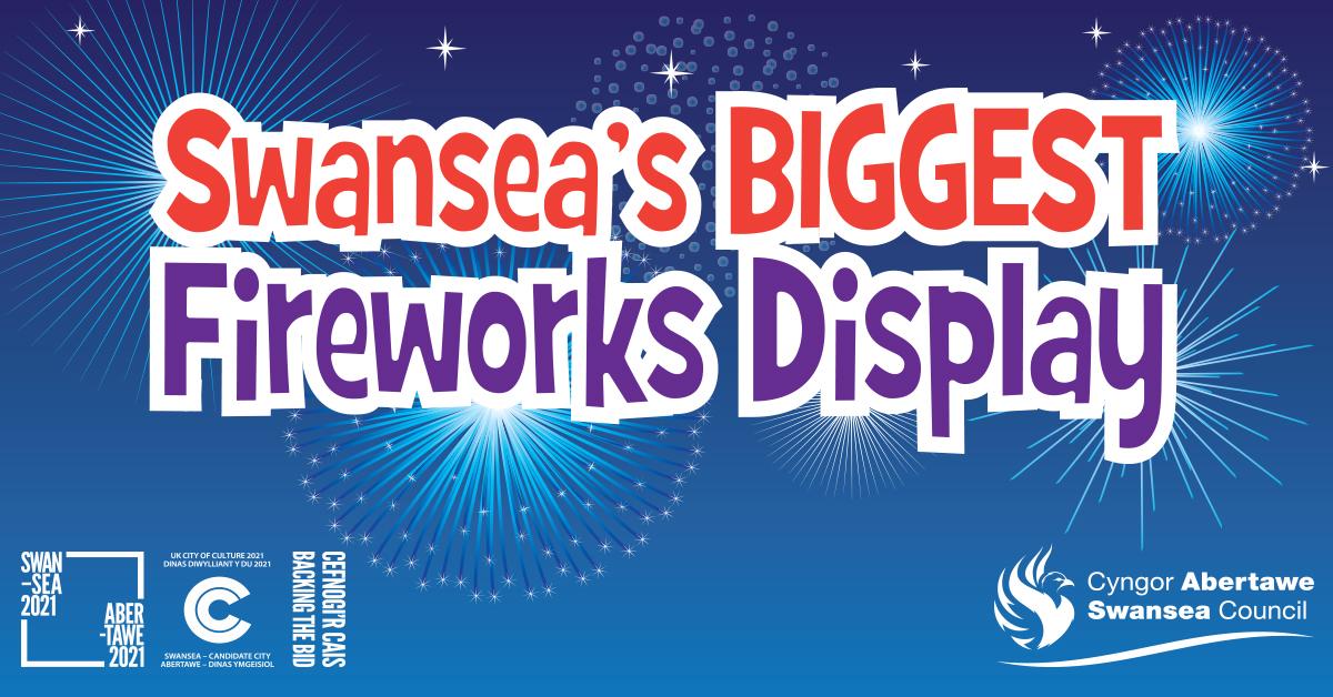 Swansea's Biggest Fireworks Display