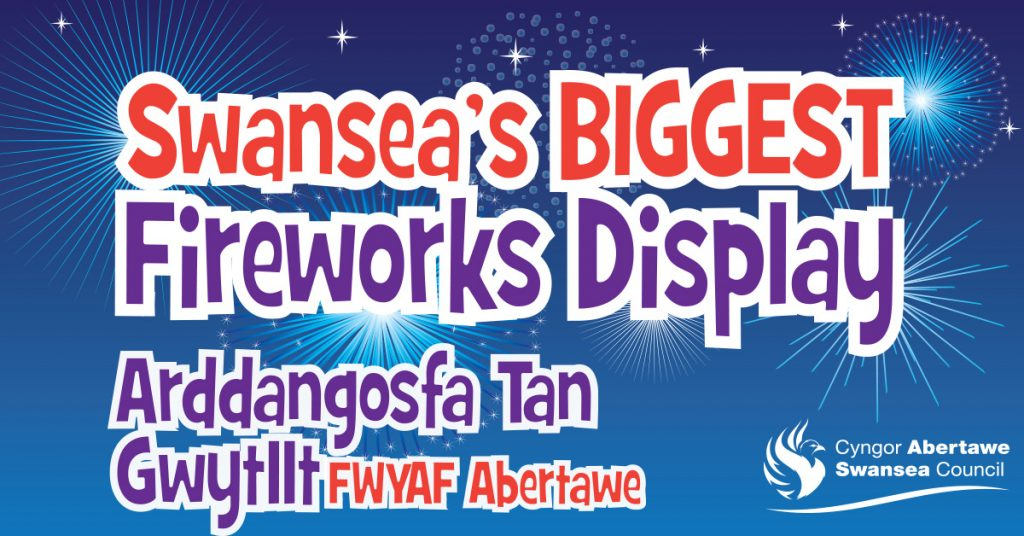 Swansea's Biggest Fireworks Display