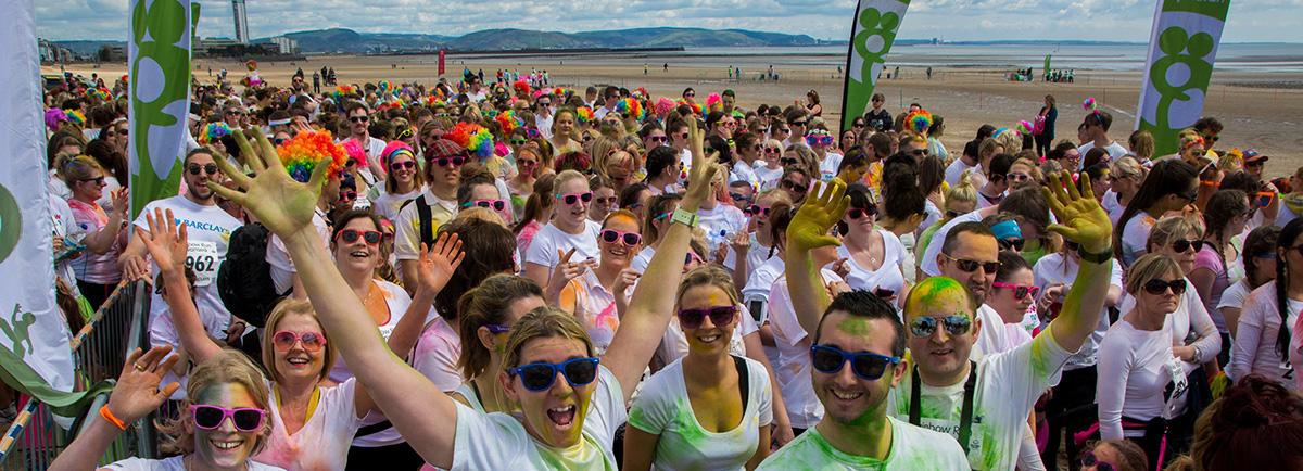 Tŷ Hafan Rainbow Run Swansea