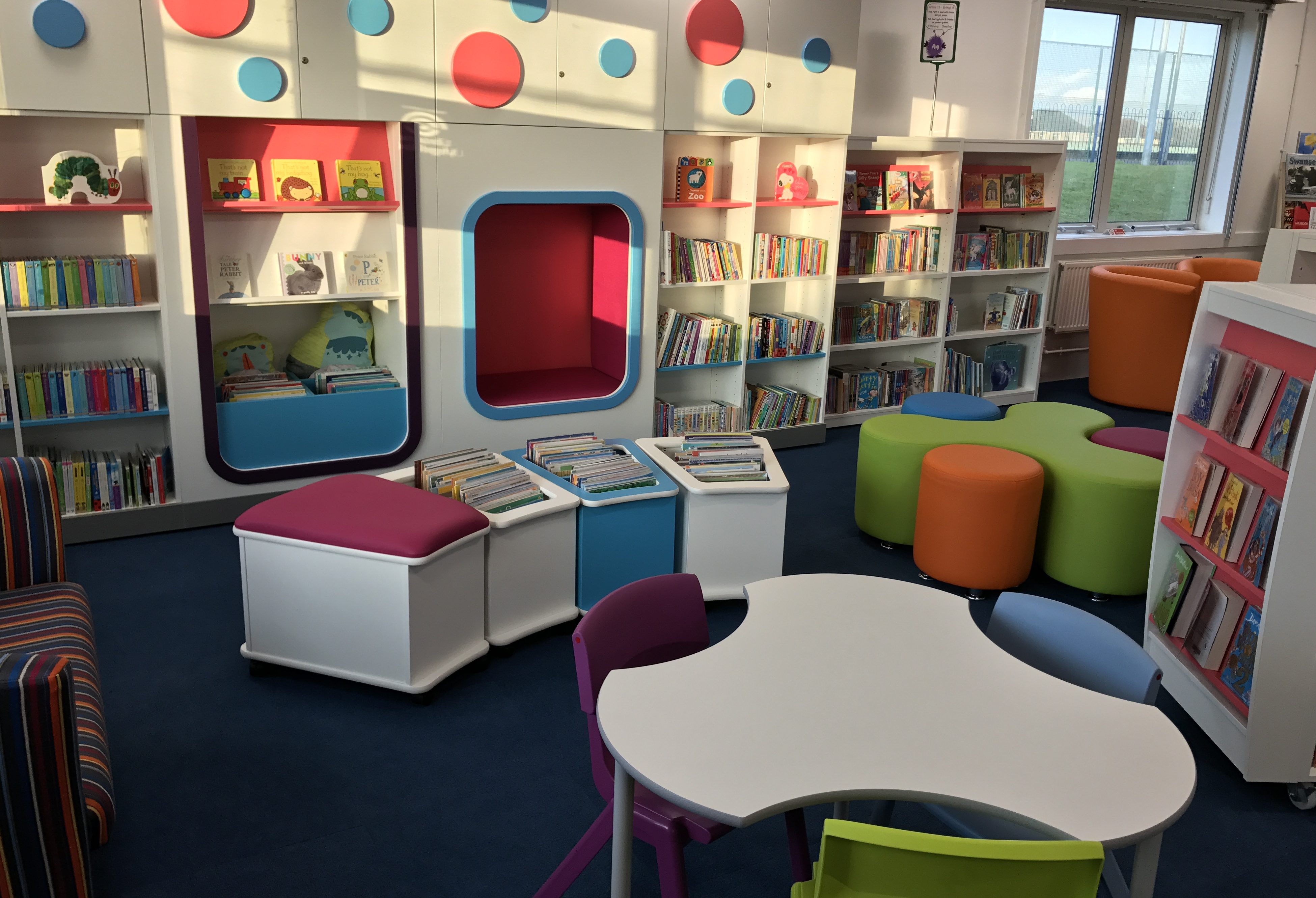 Townhill Library - Children's Area