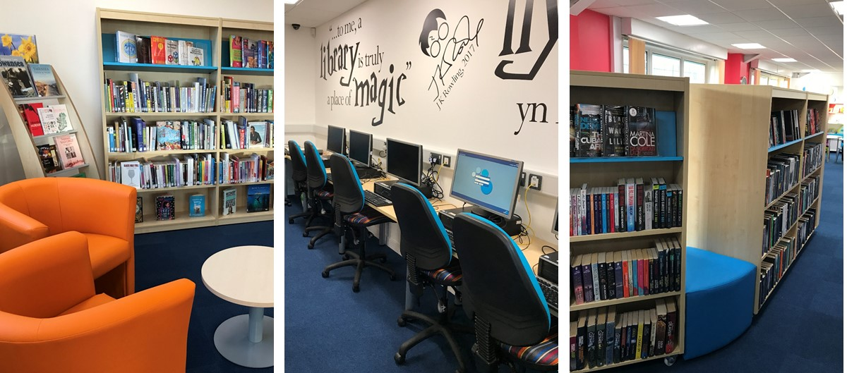Townhill Library Collage