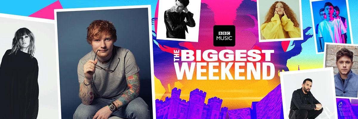 BBC Music's Biggest Weekend – Travel