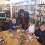 Act of kindness puts bricks in place for library sessions