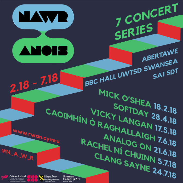 NAWR ANOIS - 7 Concerts of Irish & Welsh Experimental Music