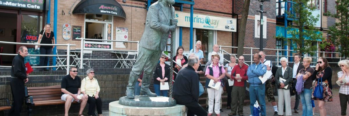 Guided Tour: Dylan's Swansea