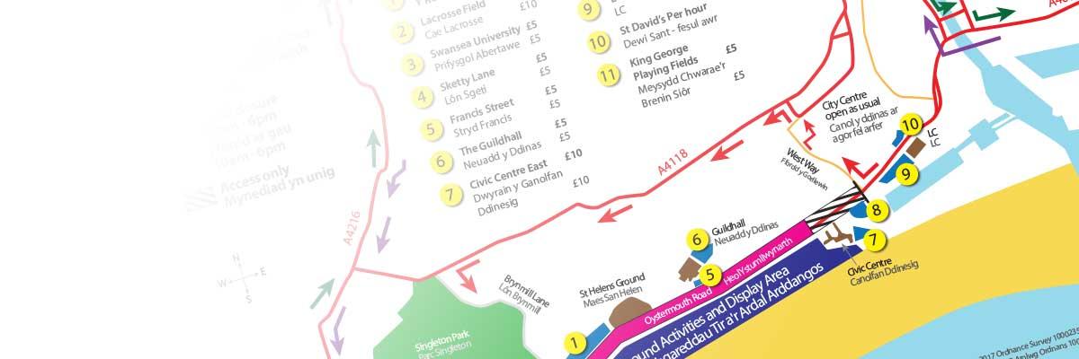 Wales Airshow road closures