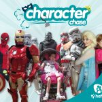 Ty Hafan Character Chase entry poster