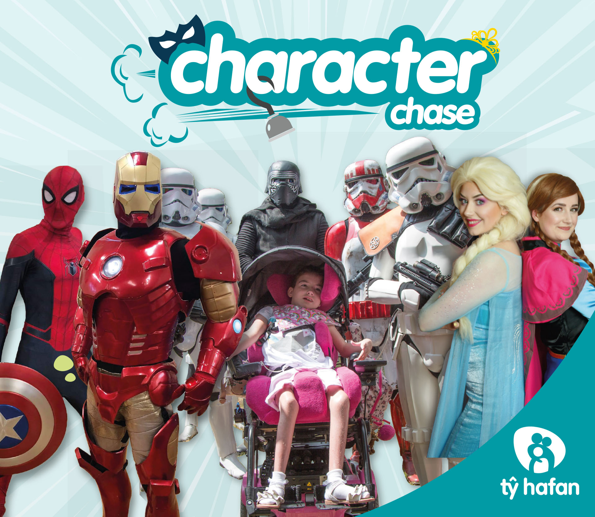 Tŷ Hafan Character Chase