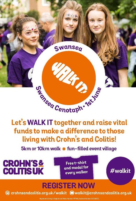 Crohn's and Colitis UK #WalkIT