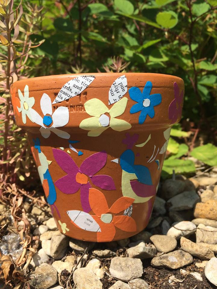Make a Decorated Plant Pot Workshop