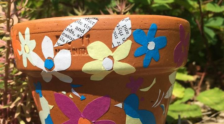 Make a Decorated Plant Pot