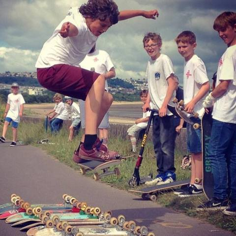 Pop up Skate Park