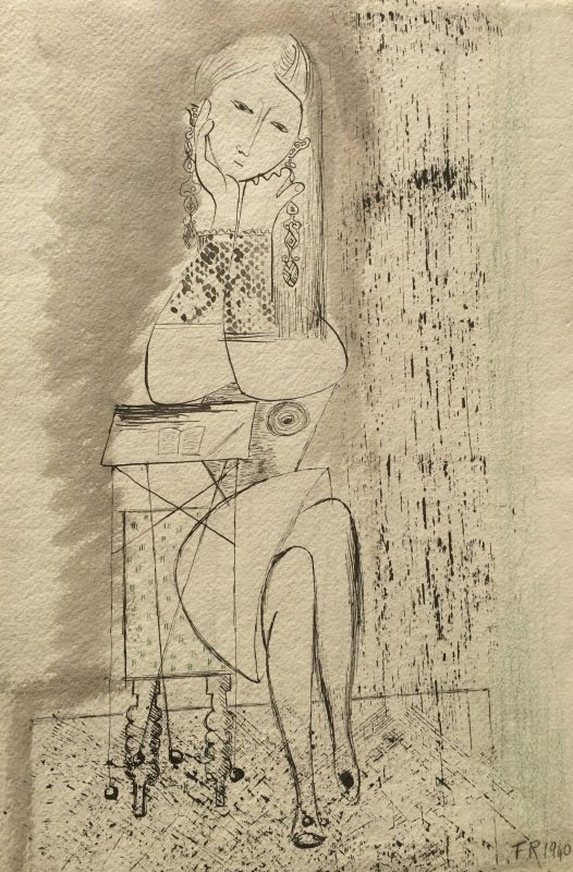 Arddangosfa - Frances Richards: An Artist Apart