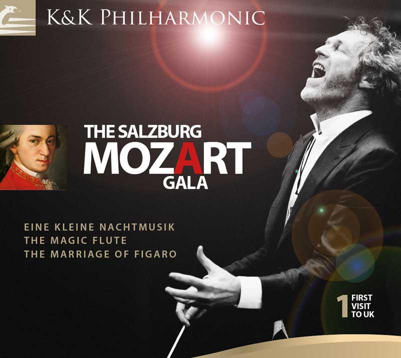 Salzburg Mozart Gala gan K&K Philharmonic Orchestra