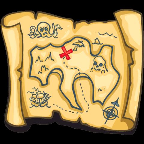 Scratch & Sniff Treasure Maps!