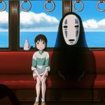A scene for the Film spirited away