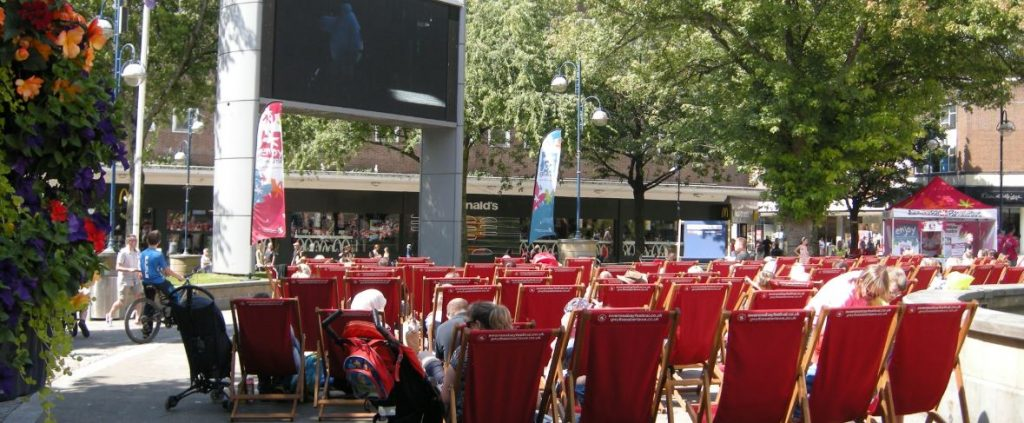 Free films on Big Screen, Castle Square in Swansea