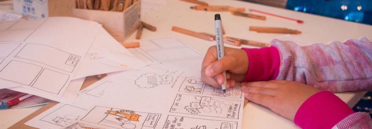 'Holiday Memory' Holiday Comic Book, Drop-in Family Workshop