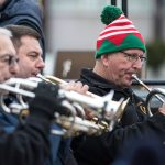 Marching bands tuning up for Swansea's Christmas parade