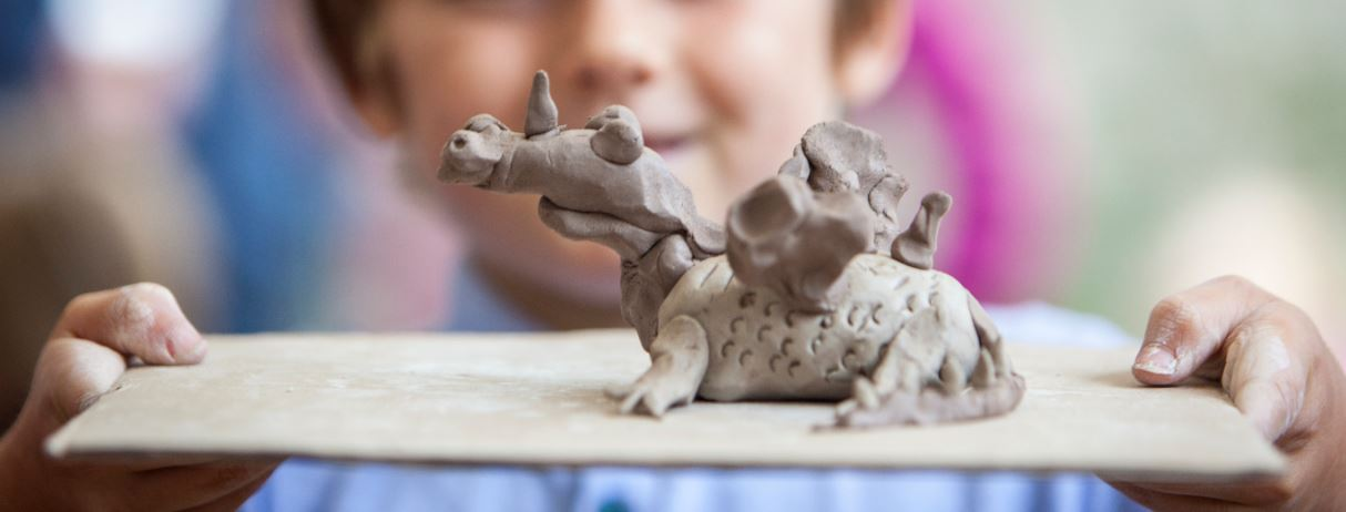 Clay Making Workshops with local artist David Marchant
